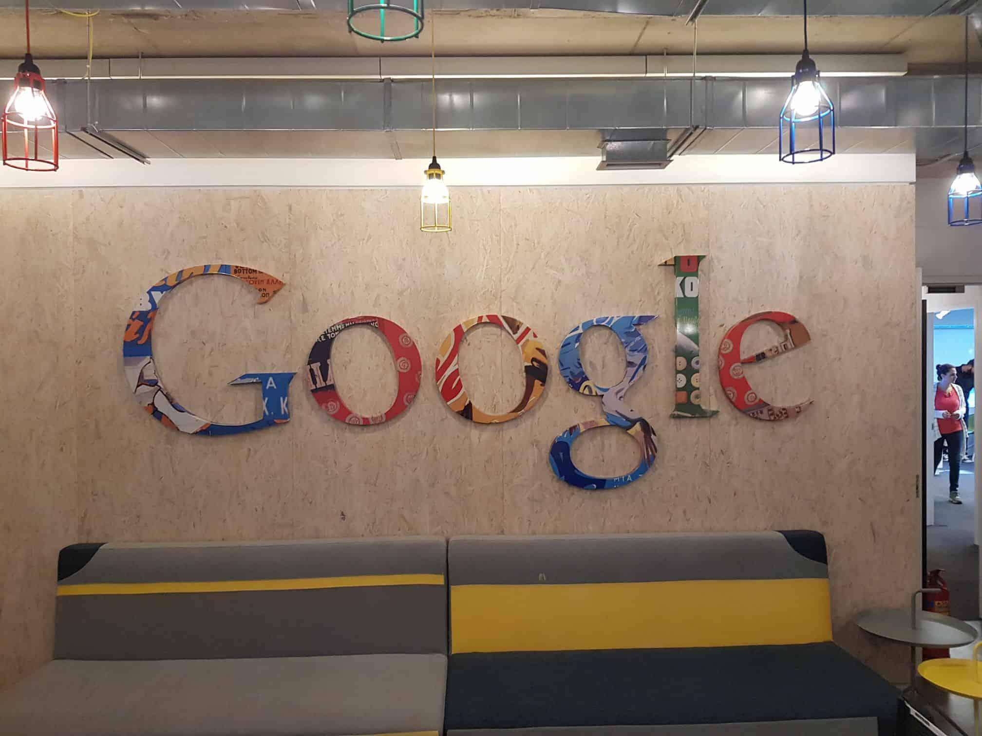 Google Athens Greece Office Logo