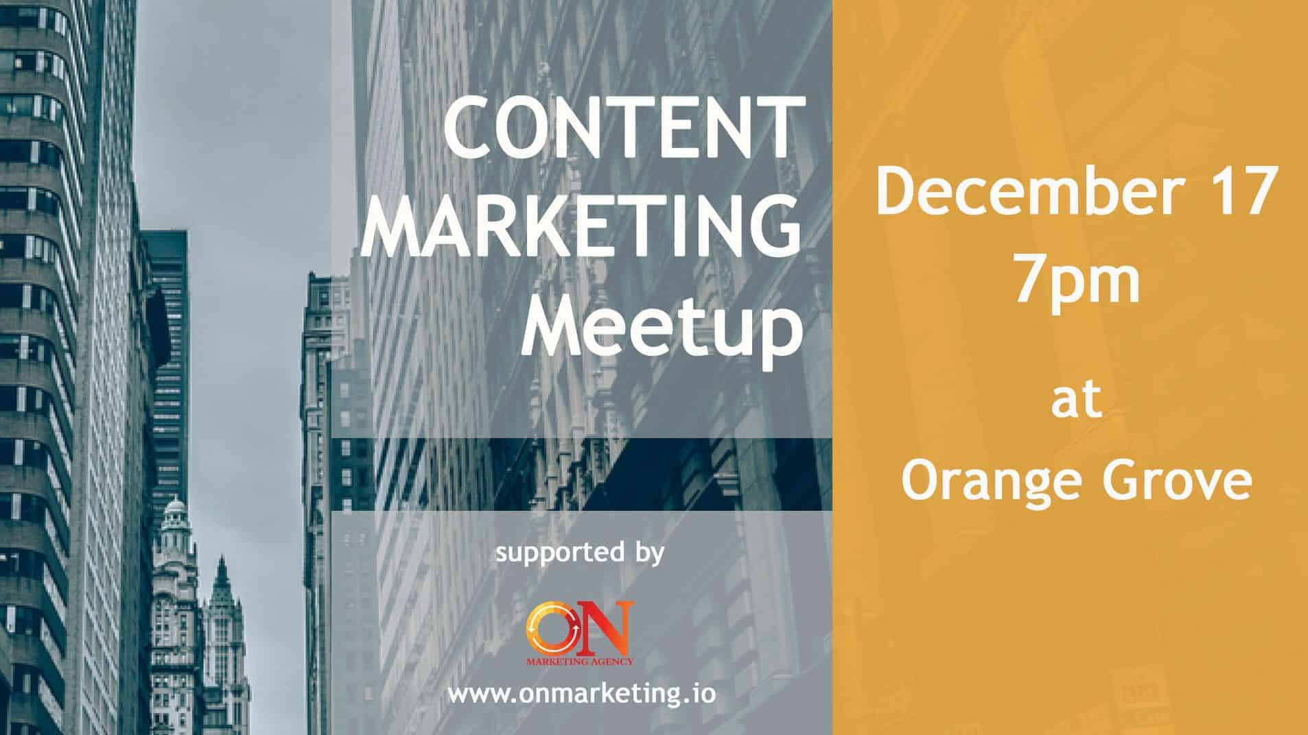 Content Marketing Meetup 2018 - Voice & eCommerce SEO
