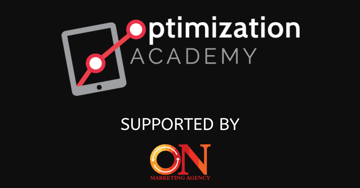 logo of optimization academy and onmarketing logo
